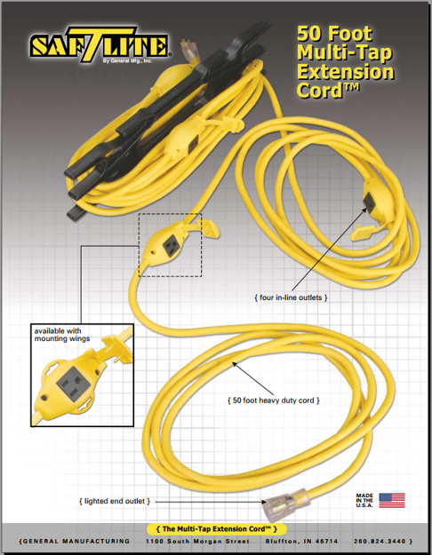 Picture of Multi-Tap™ Extension Cords