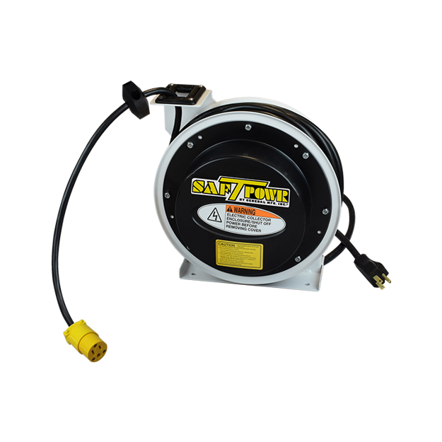 Picture of Power Supply, Industrial Grade Reel, 45 ft. 14/3 Cord with Single Receptacle (4045-3400)