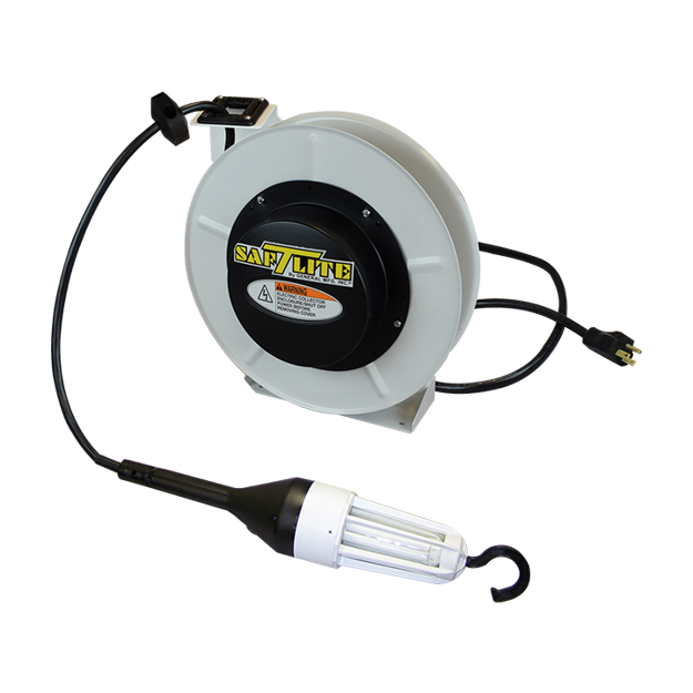 Picture of XP87B Explosionproof Light on 50' Non-Explosionproof Auto Switch Reel (4550-2005)